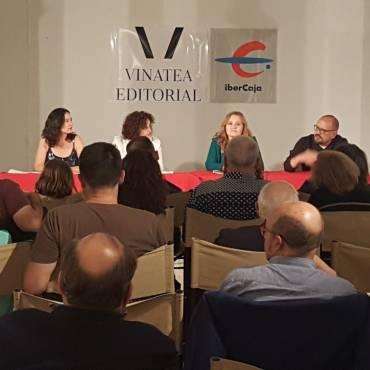 """Crónica de la presentación de """"Diosa de tierra y metal"""", de la autora Marisa Alemany."""